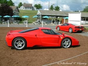 Ferrari Enzo and Challenge Stradale