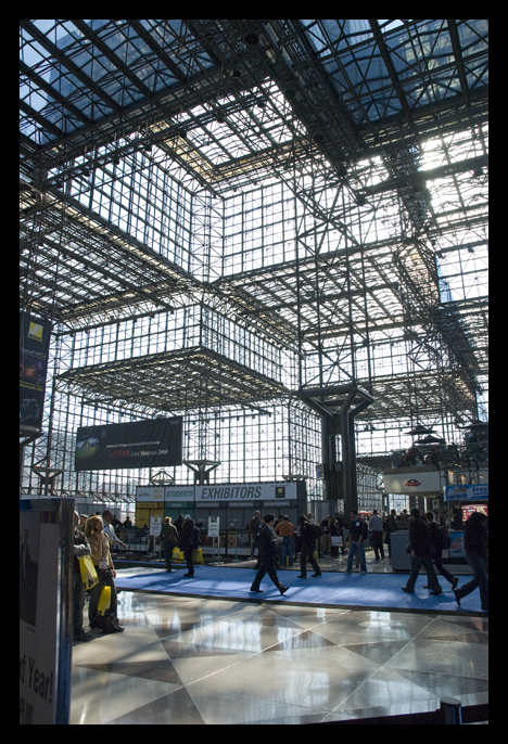 Inside the Javits Center