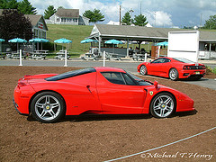 Ferraris at Lime Rock